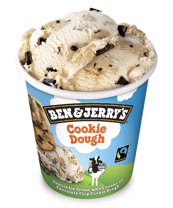 Ben & Jerry's Eiscreme Cookie Dough